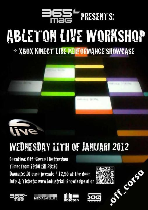Kinect workshop poster